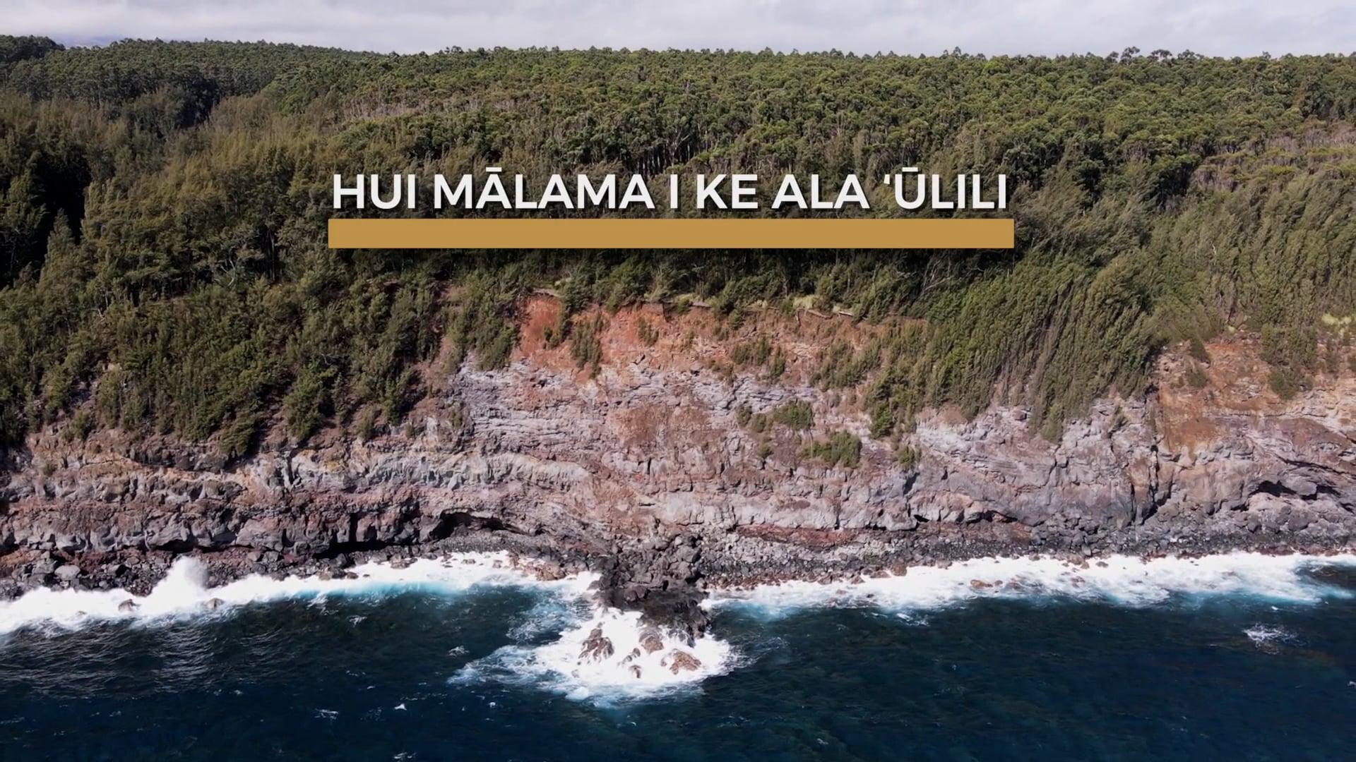Community Restoration Partnership: Hui Mālama i ke  Ala ʻŪlili