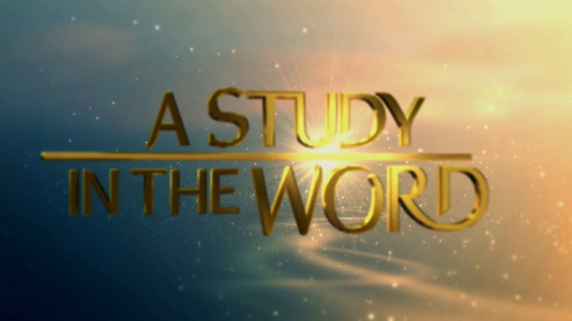 A Study In The Word - Sep. 28th, 2021