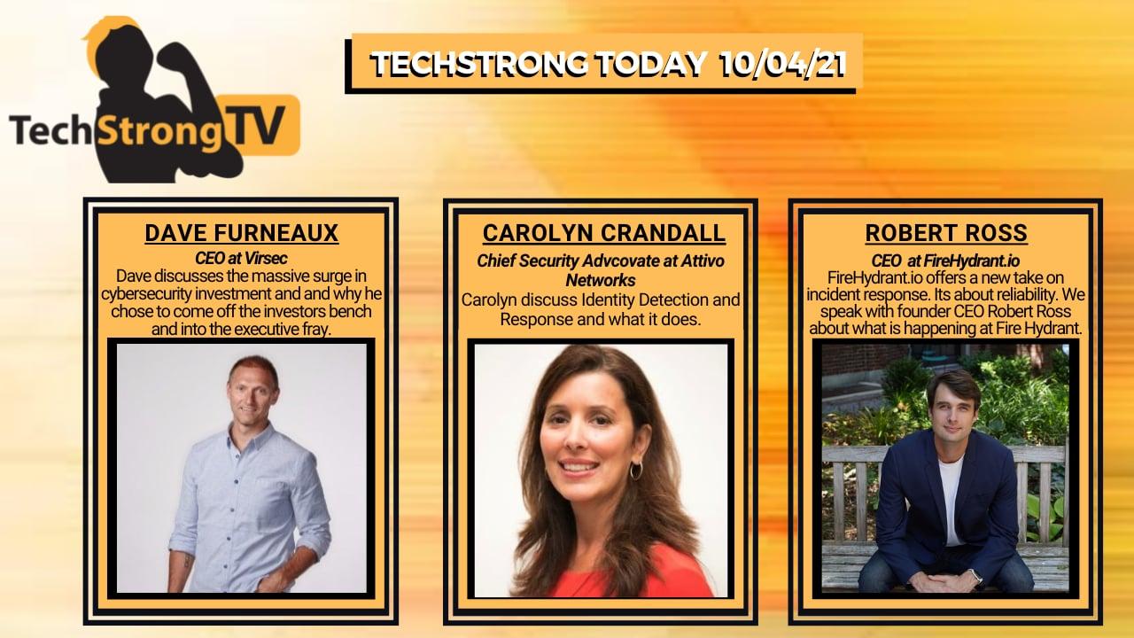 TechStrong TV – October 4, 2021