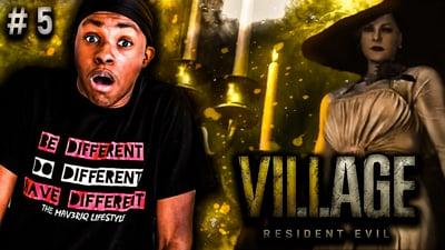 She Is ALWAYS Watching ME! Trent's Resident Evil: Village Walkthrough Ep. 5