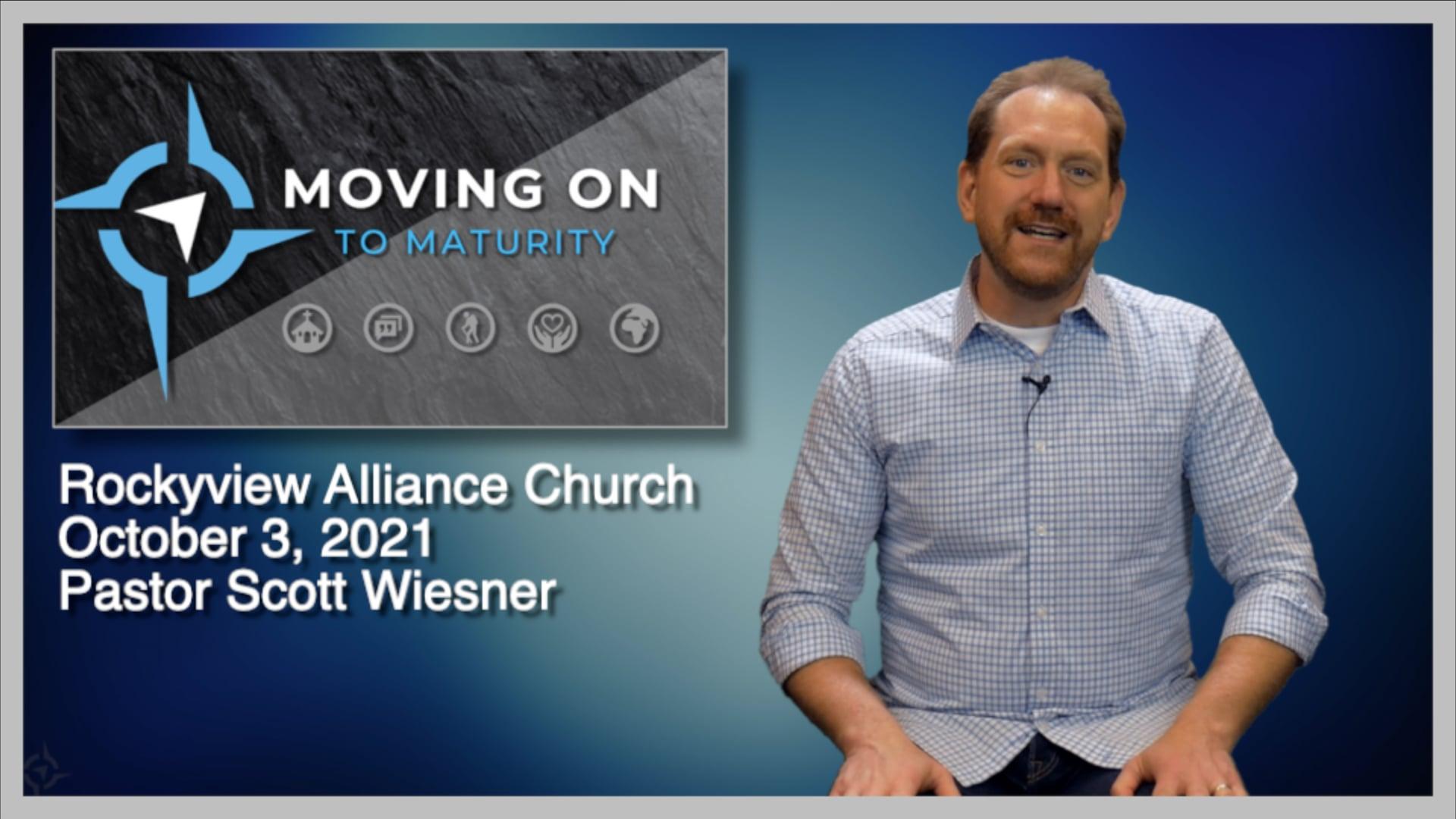October 3, 2021 - Scott Wiesner - Moving On To Maturity