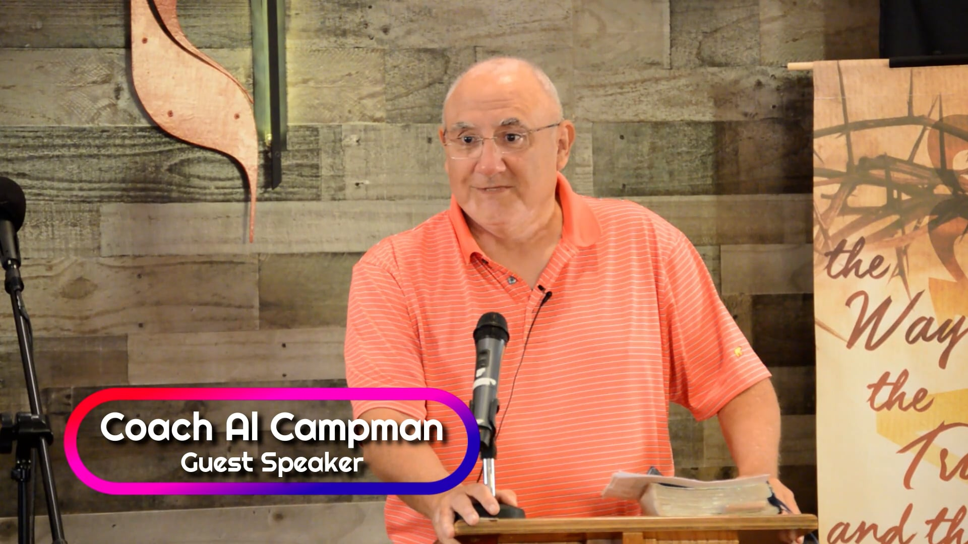 Online Worship October 3, 2021 - Special Guest Speaker: Al Campman