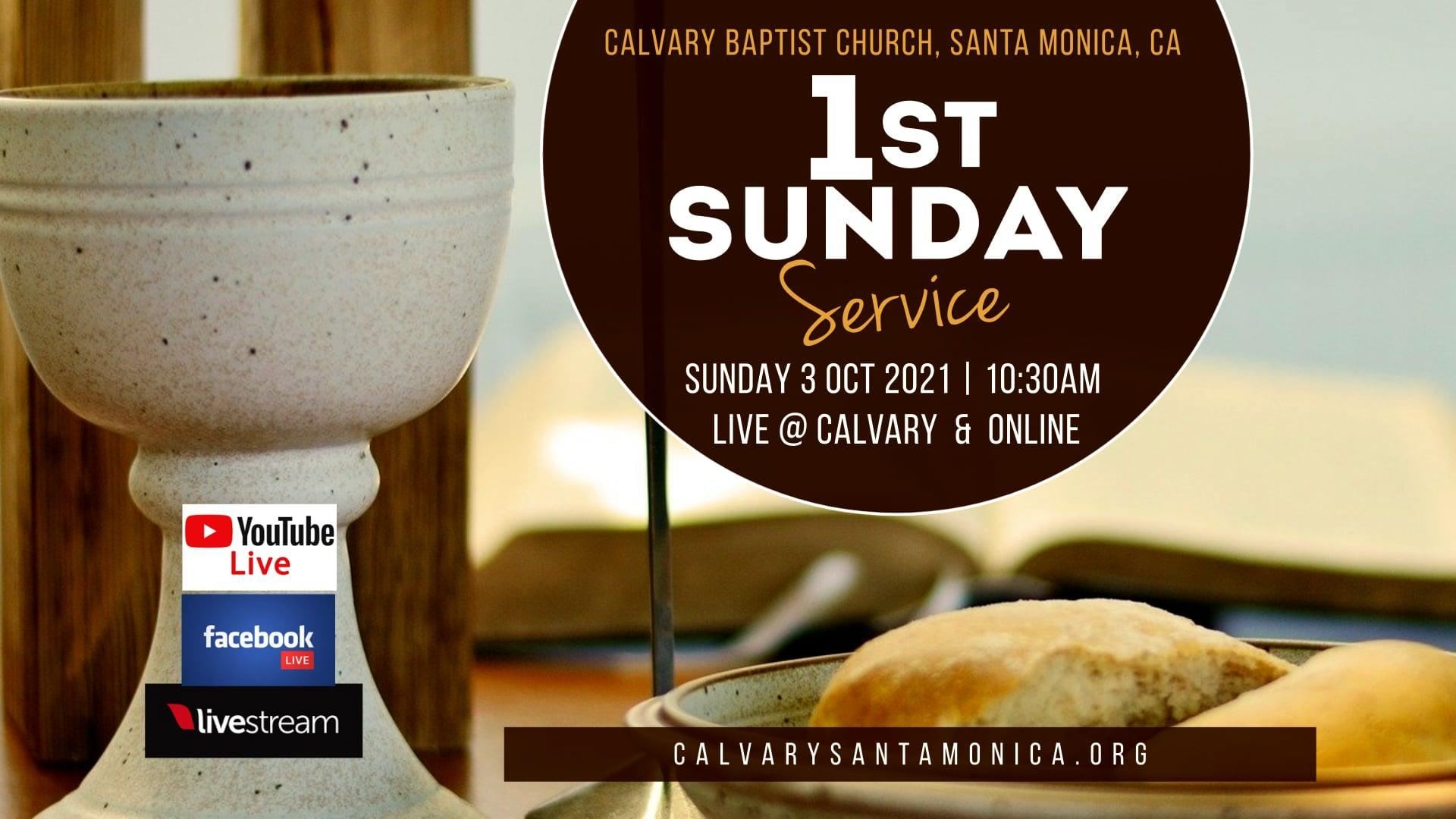 10.03.2021 Calvary Baptist Church Worship Service
