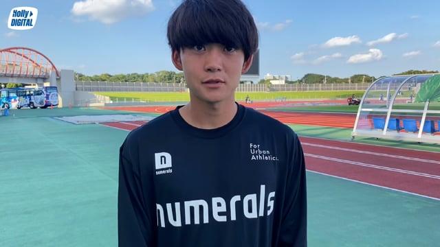 【第32節vs.相模原】渡邉柊斗選手インタビュー