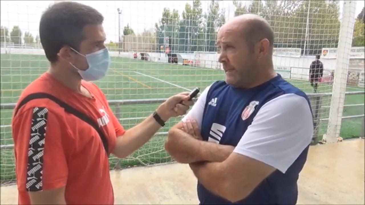 ROBERTO FANDOS (Entrenador Sabiñánigo) UD Montecarlo 2-0 AD Sabiñánigo / Jornada 4 / Preferente Gr 1