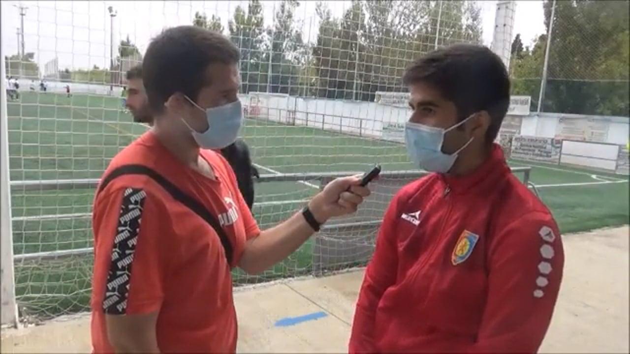 FRAN JURADO (Entrenador Montecarlo) UD Montecarlo 2-0 AD Sabiñánigo / Jornada 4 / Preferente Gr 1