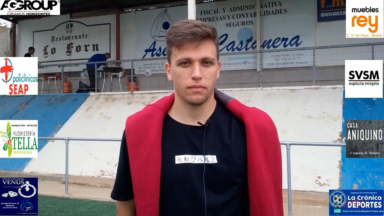 ALEXIS ESPINOSA (Jugador CDJ Tamarite) Tamarite 5-0 Peña Ferranca / J4 / Preferente G-1