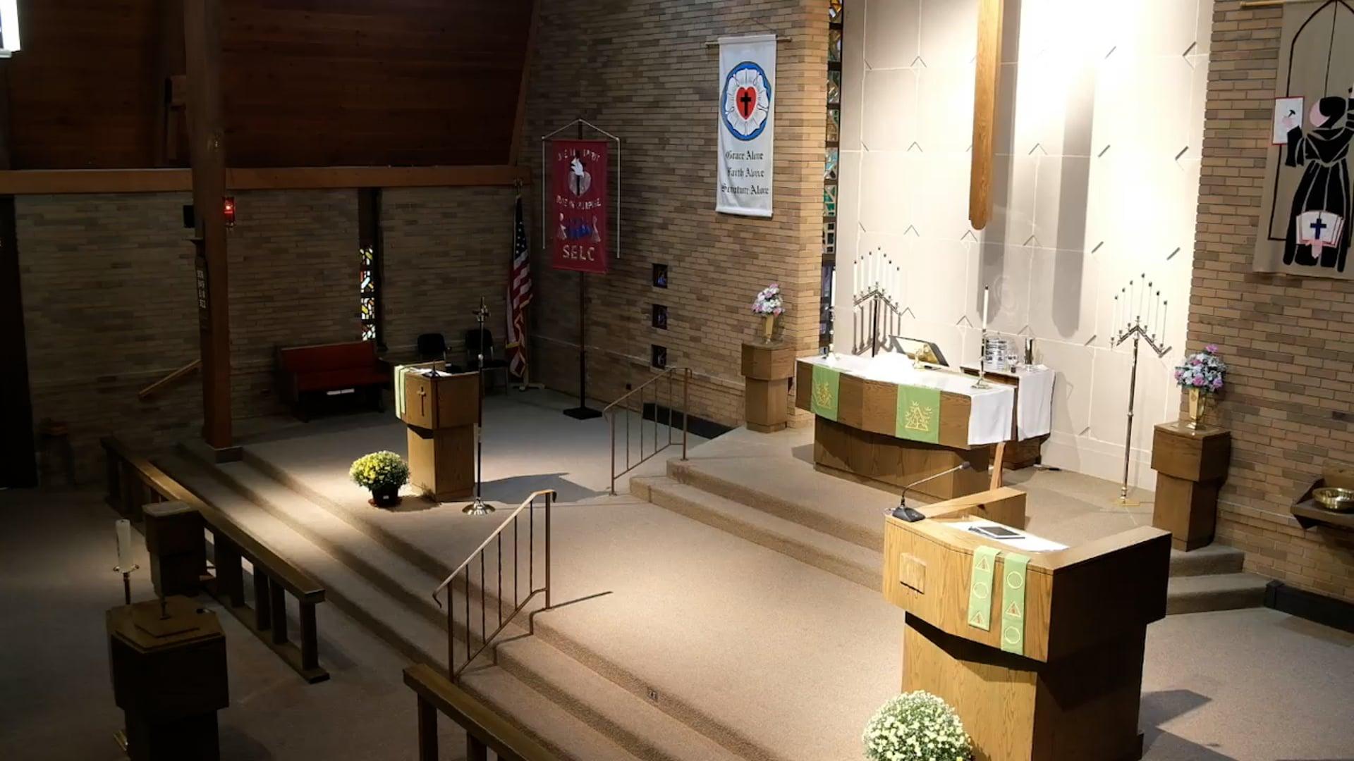 Divine Service, 19th Sunday after Pentecost