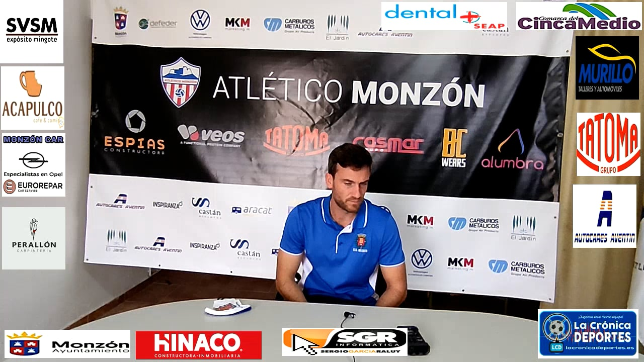 JOSE CARLOS COLLADOS (Entrenador Belchite 97) AT Monzón 1-1 Belchite 97 / J 5 / 3ª División