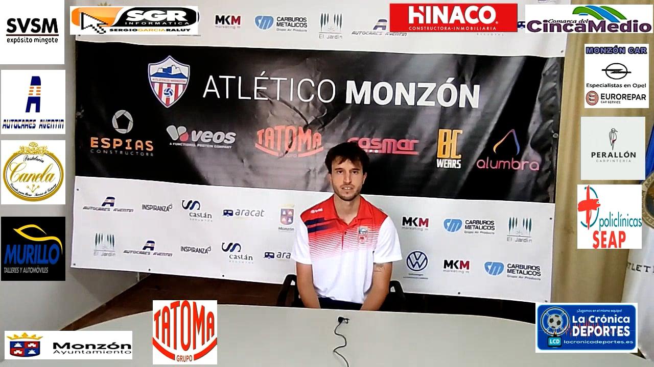 CRISTIAN  LASÚS (Jugador Monzón) AT Monzón 1-1 Belchite 97 / J 5 / 3ª División