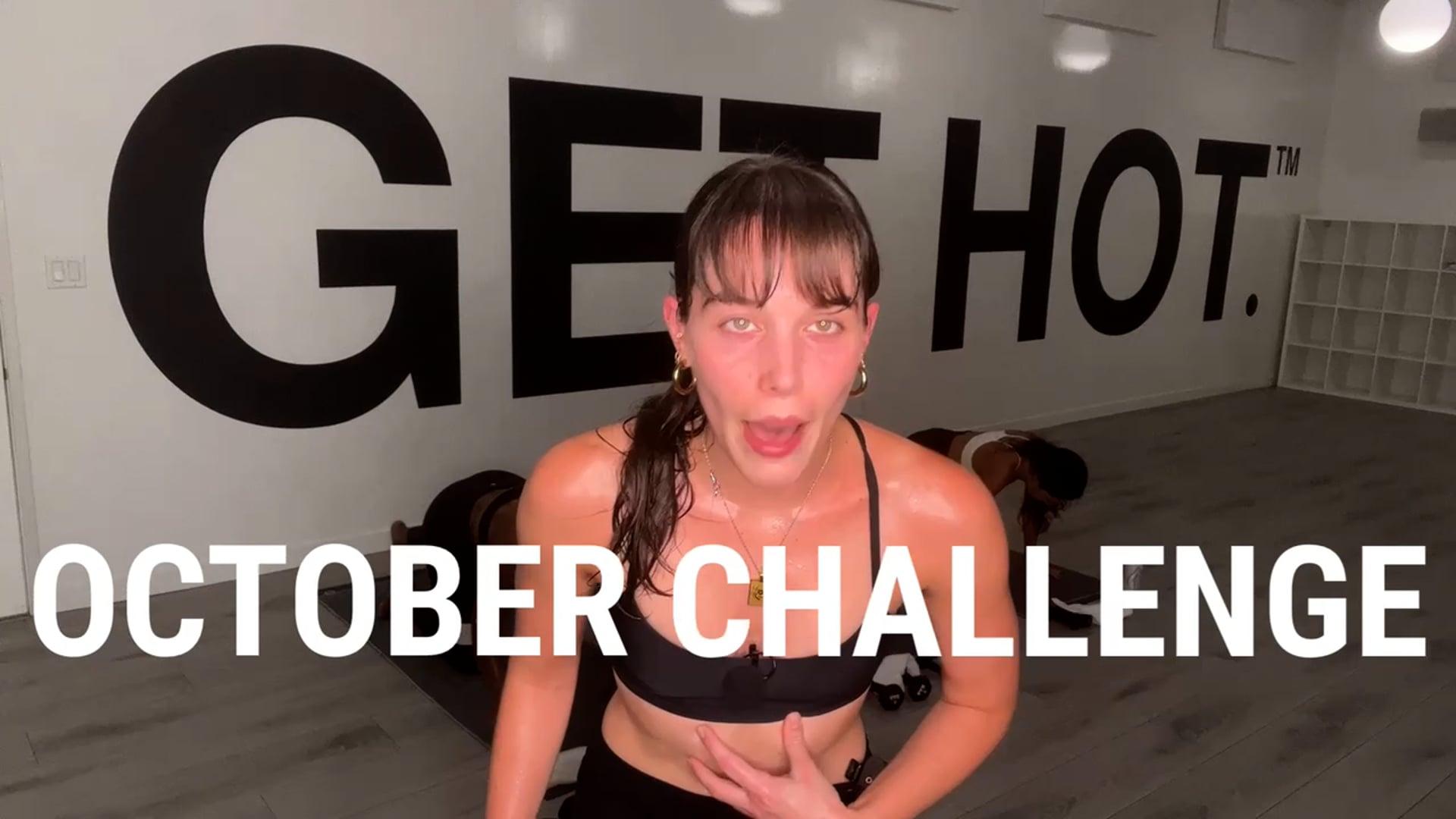 OCTOBER CHALLENGE TRAILER