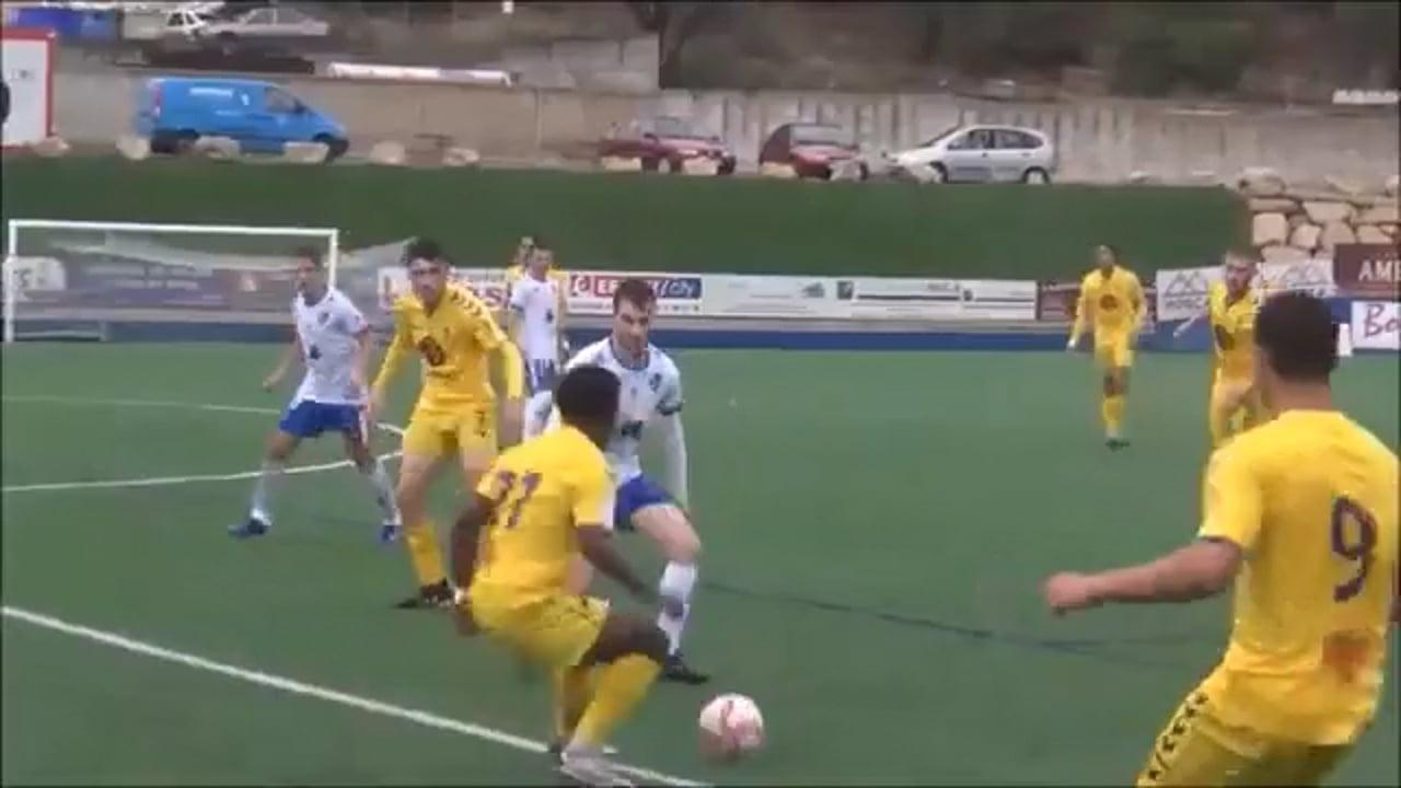 (RESUMEN y GOL) SD Borja 1-0 CD Robres / Jornada 5 / 3ª División