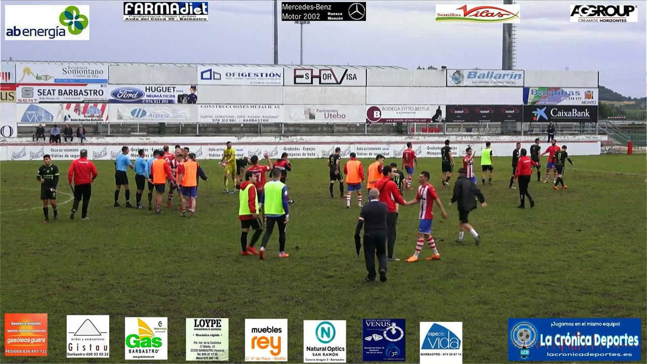 (RESUMEN y GOL) UD Barbastro 1-0 CF Illueca / Jornada 5 / 3ª División