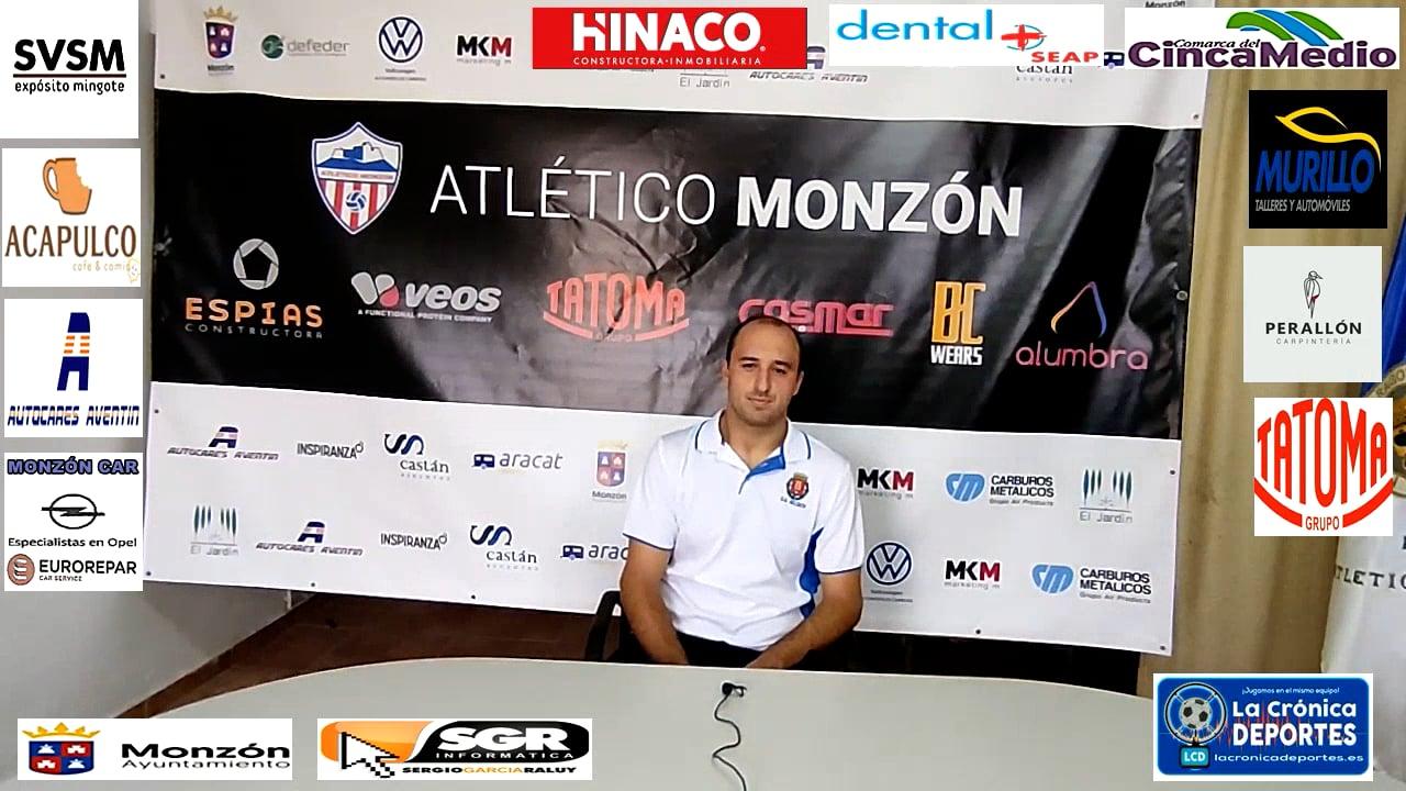 MARCO  ARIÑO (Jugador Belchite 97) At Monzón 1-1 Belchite 97 / J 5 / 3ª División