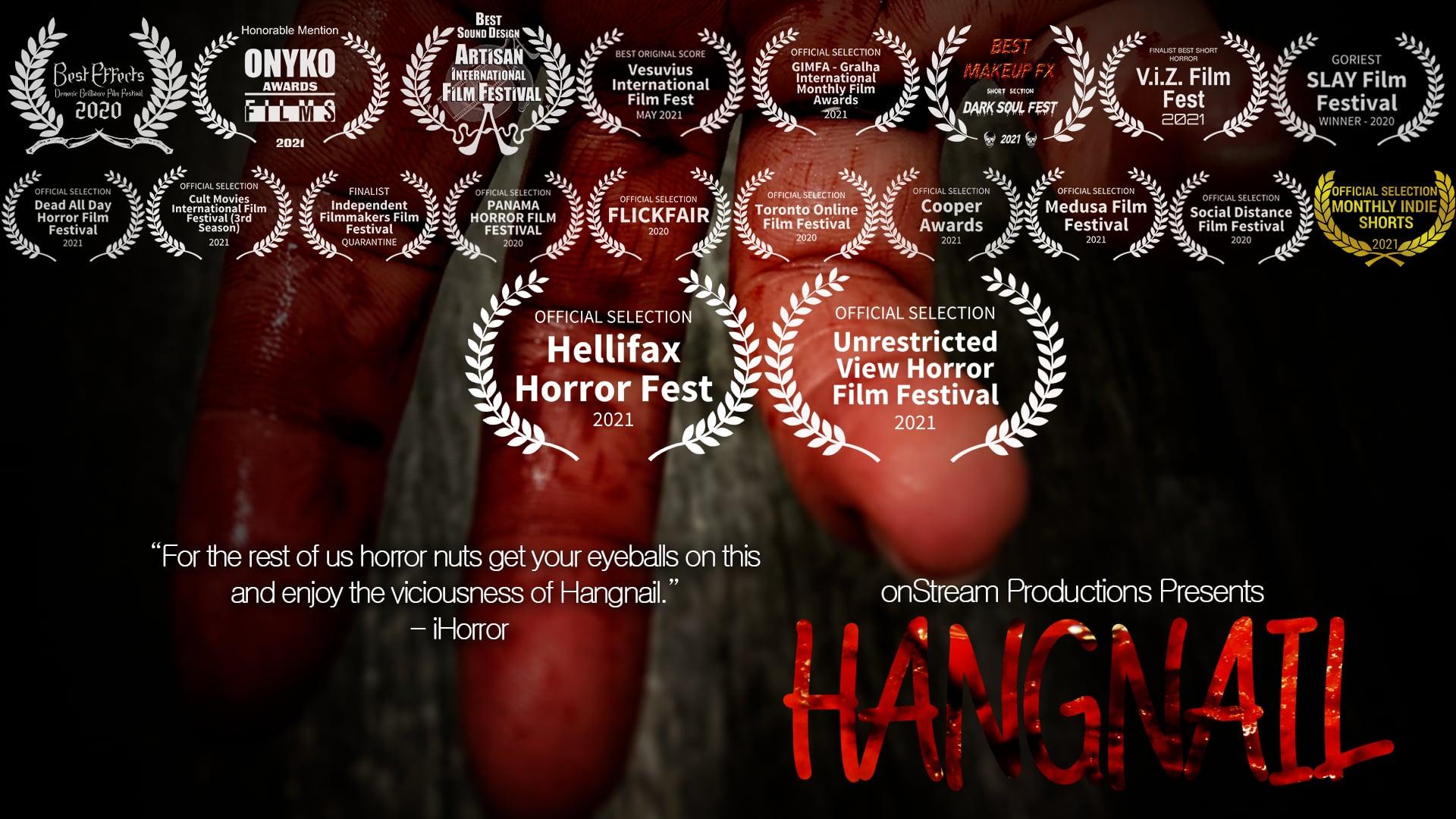 Hangnail   short film directed by Colin MacDonald