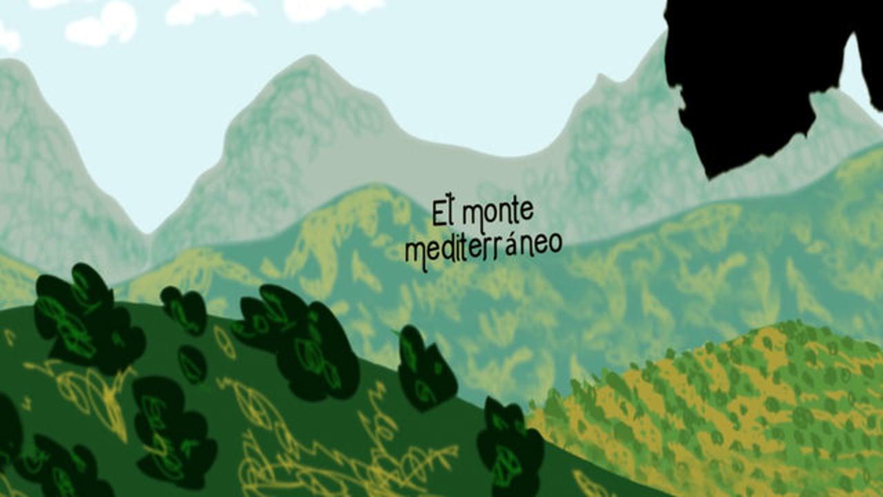 El Monte Mediterráneo. 1ª Entrega trilogía.