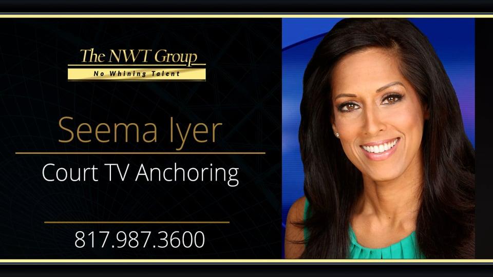 Court TV Anchoring
