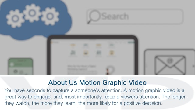 About Us: Motion Graphic Video