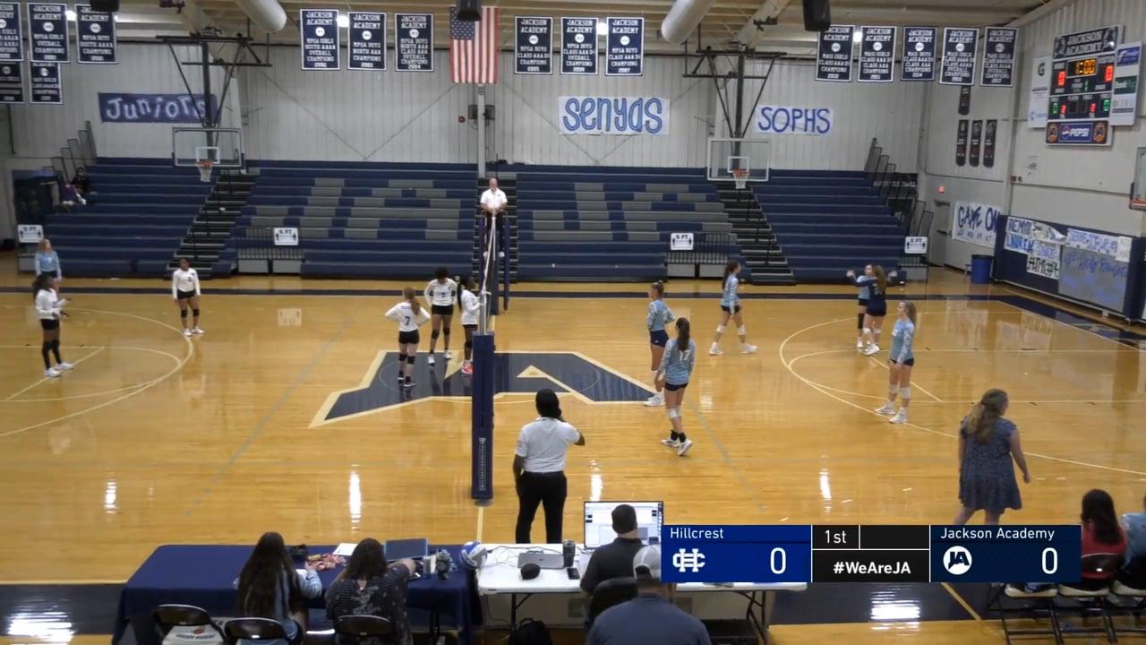 JV Volleyball vs Hillcrest - 10-05-21