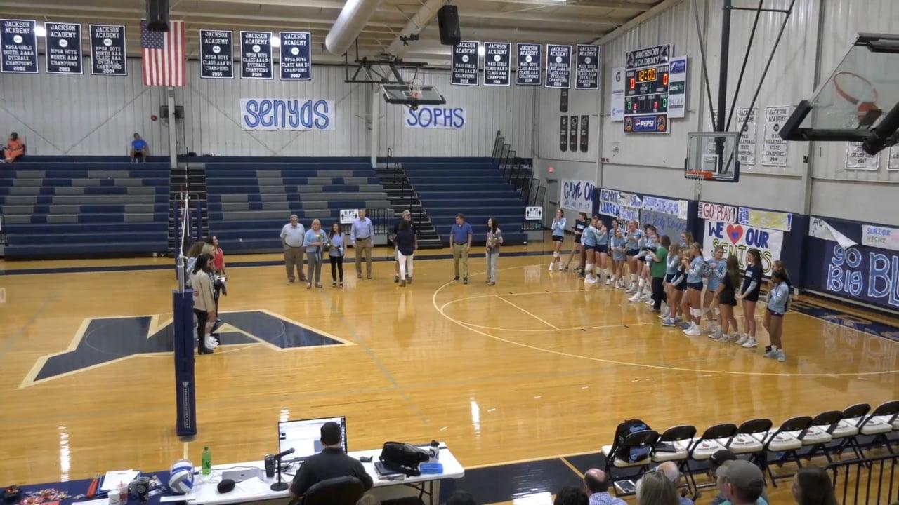 Varsity Volleyball (Senior Night) - 10-05-21