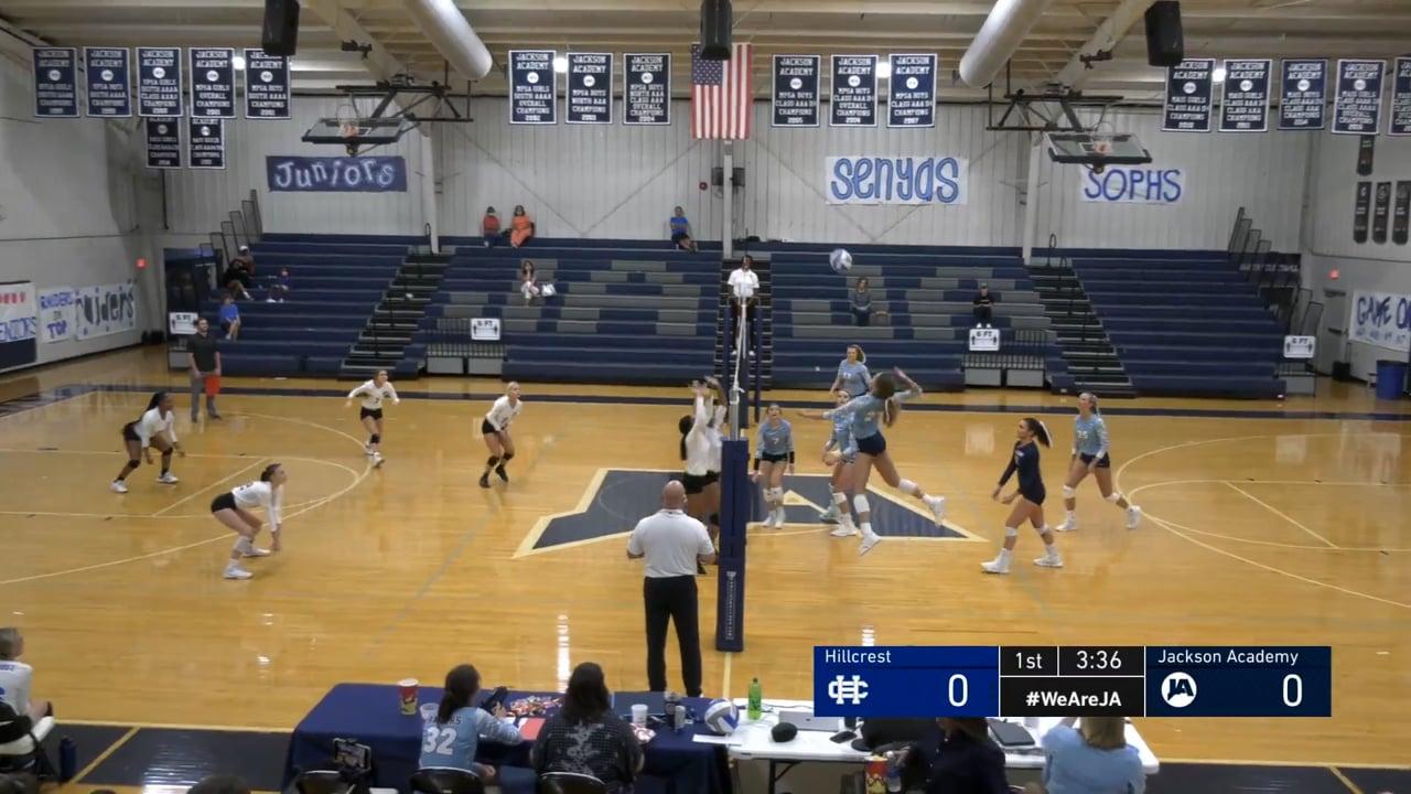 Varsity Volleyball vs Hillcrest - 10-05-21