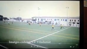 El gol de camp a camp del porter Eric Quesada