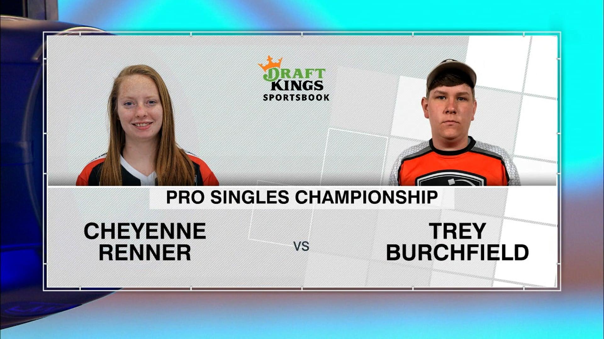 2021 ACL World Championships Trey Burchfield vs Cheyenne Renner