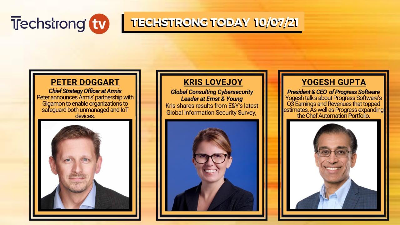 TechStrong TV – October 7, 2021