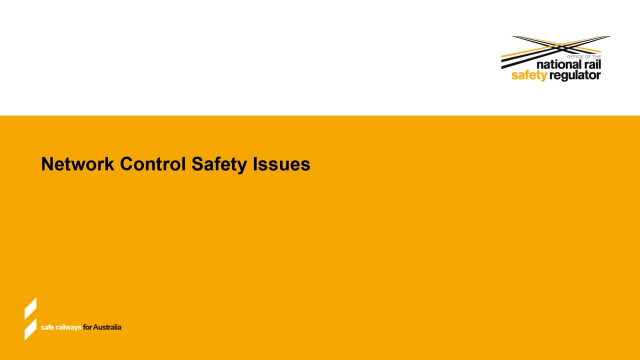 Network Control Safety Issues