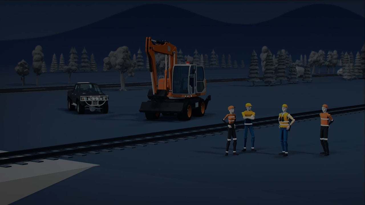 Safety message: Digital recreation #3 - ONRSR Worksite Protection Incident Recreation and Learnings