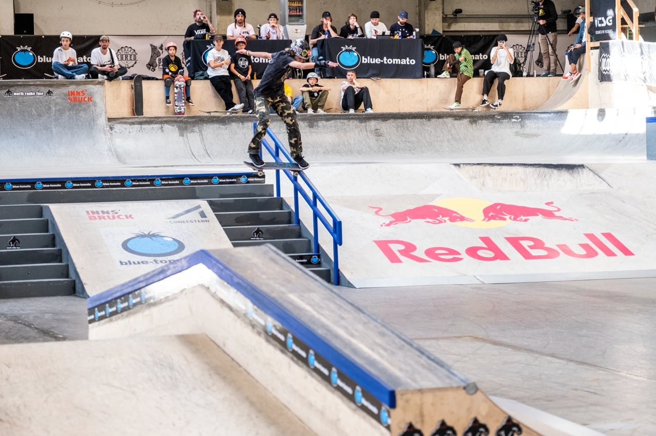 Andres Fusconi - 2nd Male Grom at WRT Sk8 Finals 2021