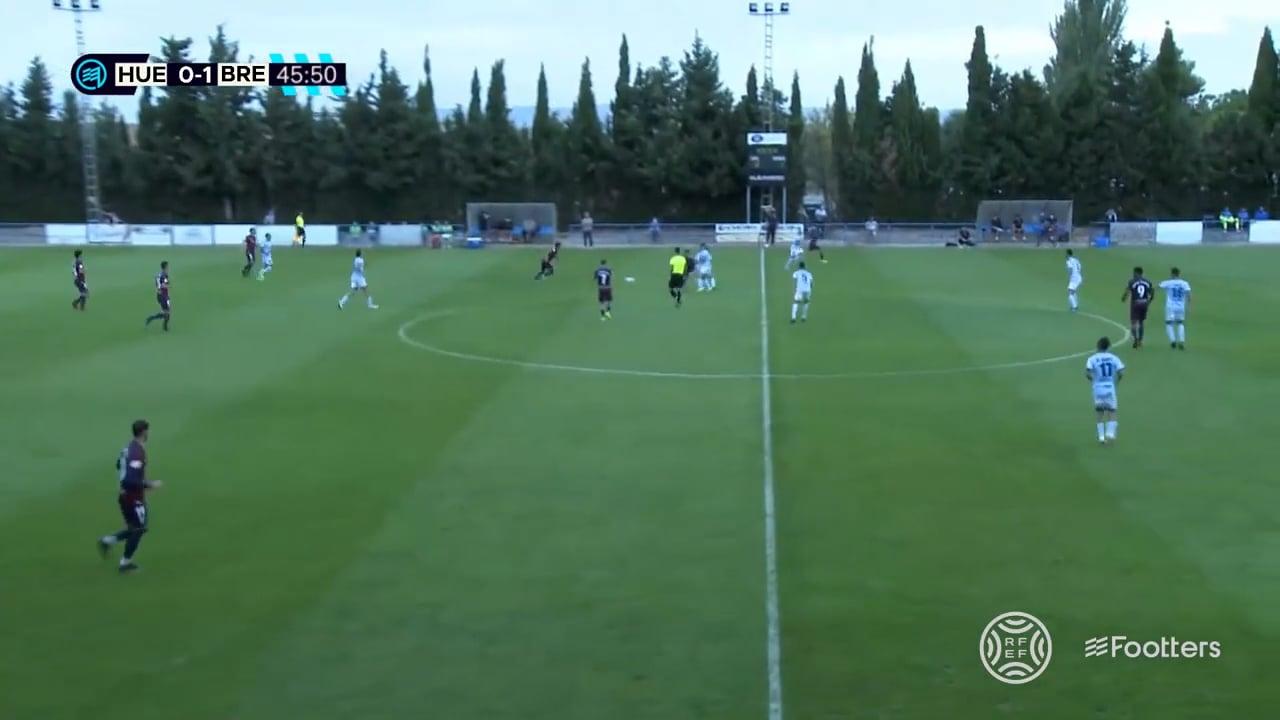 (RESUMEN y GOLES) SD Huesca B 1-1 CD Brea / Jornada 5 / 2ª RFEF - Grupo 3