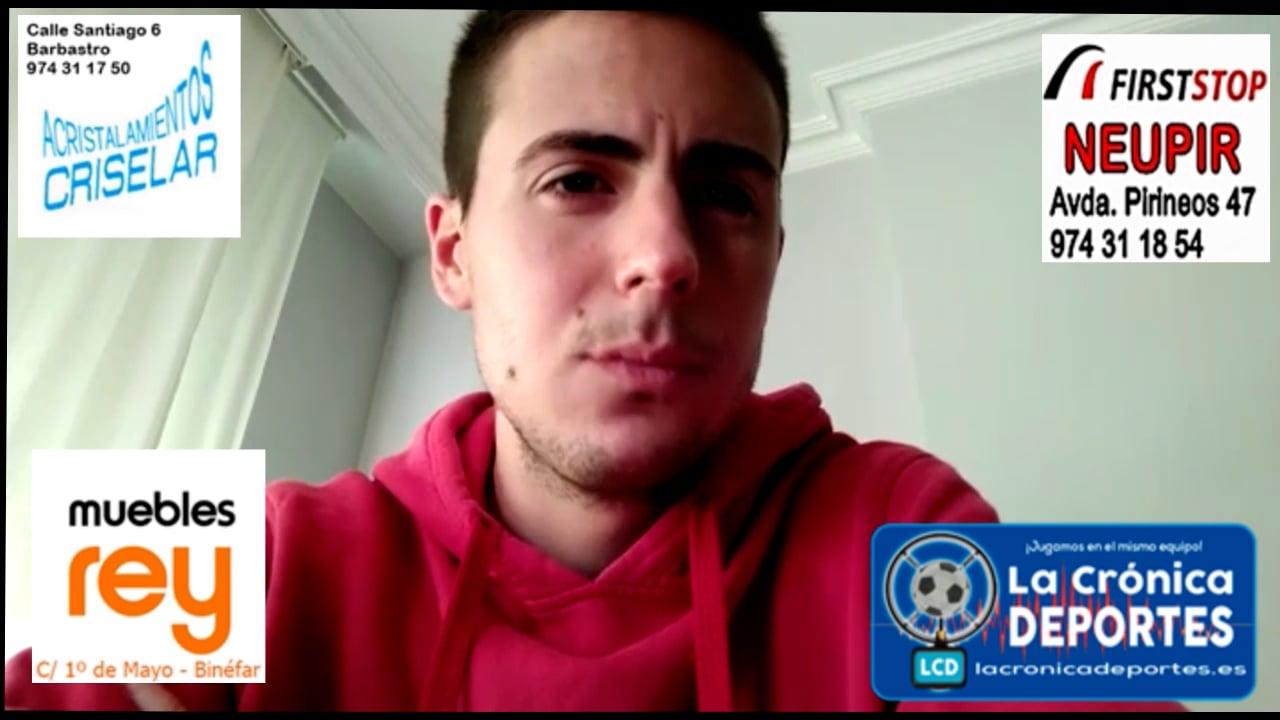 MARC VIRGIL (Entrenador UD Fraga) Fraga 5-0 San Lorenzo / J4 / Preferente Gr 1
