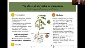 The effects of plant inbreeding on the legume-rhizobia mutualism