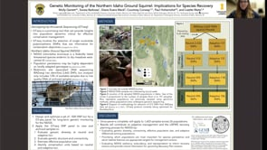Genetic Monitoring of the Northern Idaho Ground Squirrel: Implications for Species Recovery