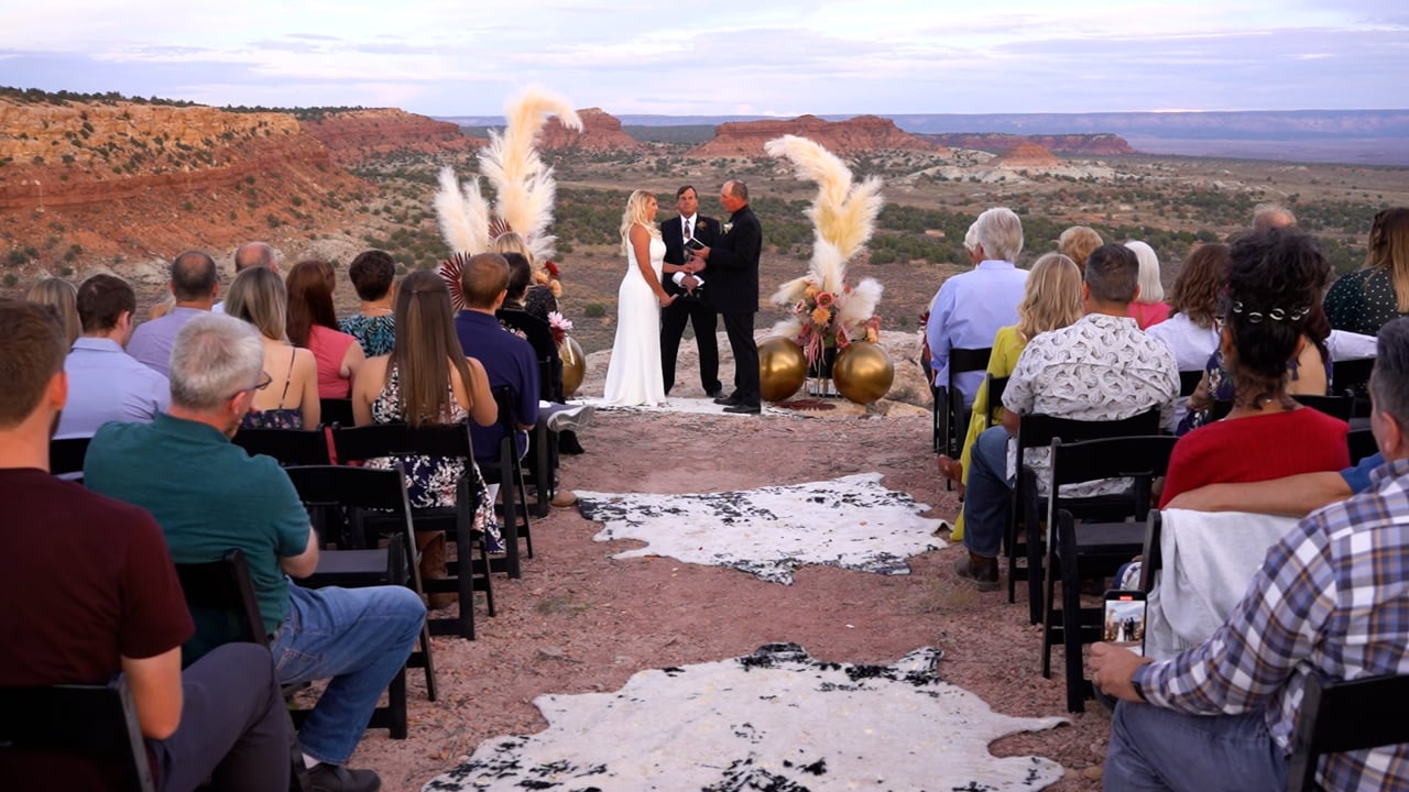 Brad and Lindsay's Wedding Celebration in Kanab, Utah - Highlight Video