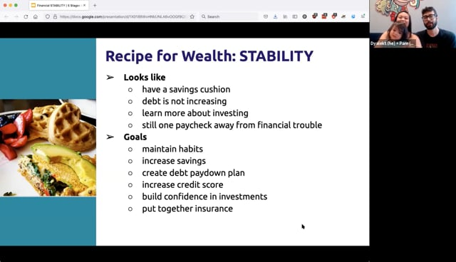 5 Financial Stages – Stability