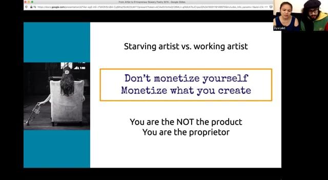 Artist to Artist Entrepreneur