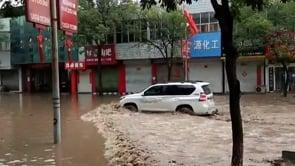 Cina: cede argine sul fiume Fenhe, affluente del Fiume Giallo