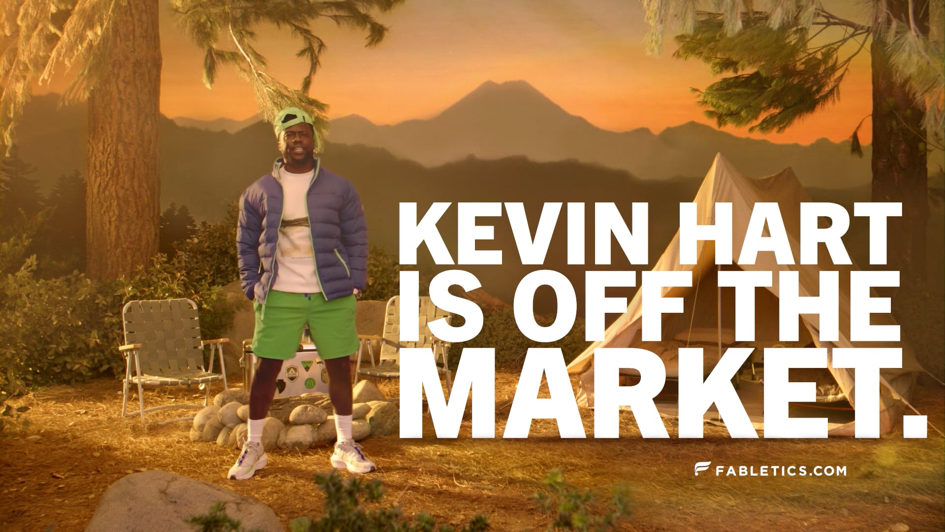 """Fabletics x """"Kevin Hart is Off The Market"""""""
