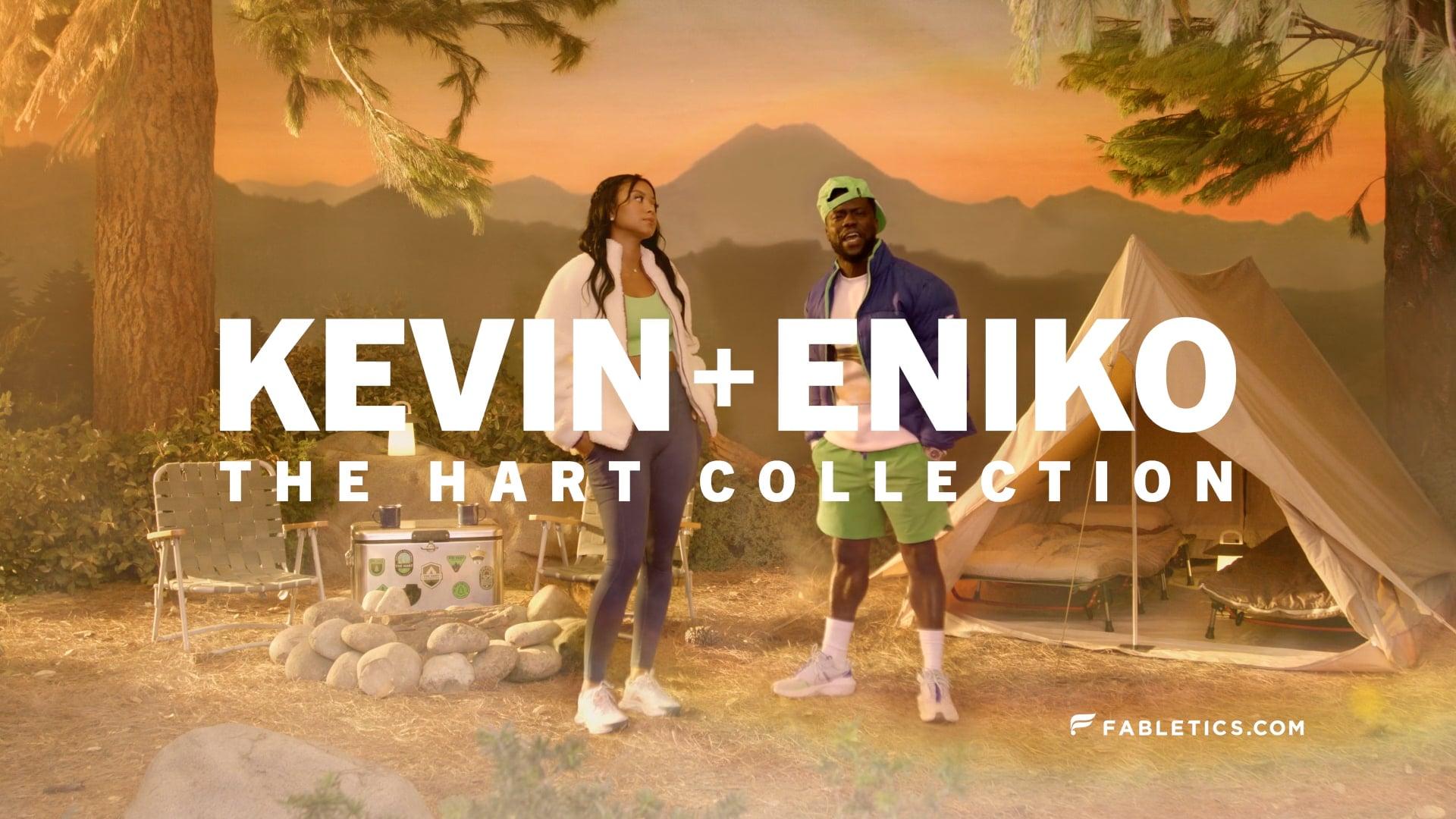 """Fabletics x Kevin & Eniko Hart """"Bring it Nature"""""""