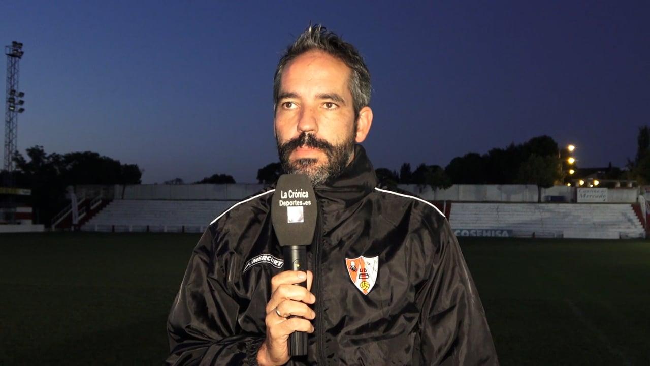 LA PREVIA / CF Calamocha - UD Barbastro / RICHI GIL (Entrenador Barbastro) Jornada 6 / 3ª División