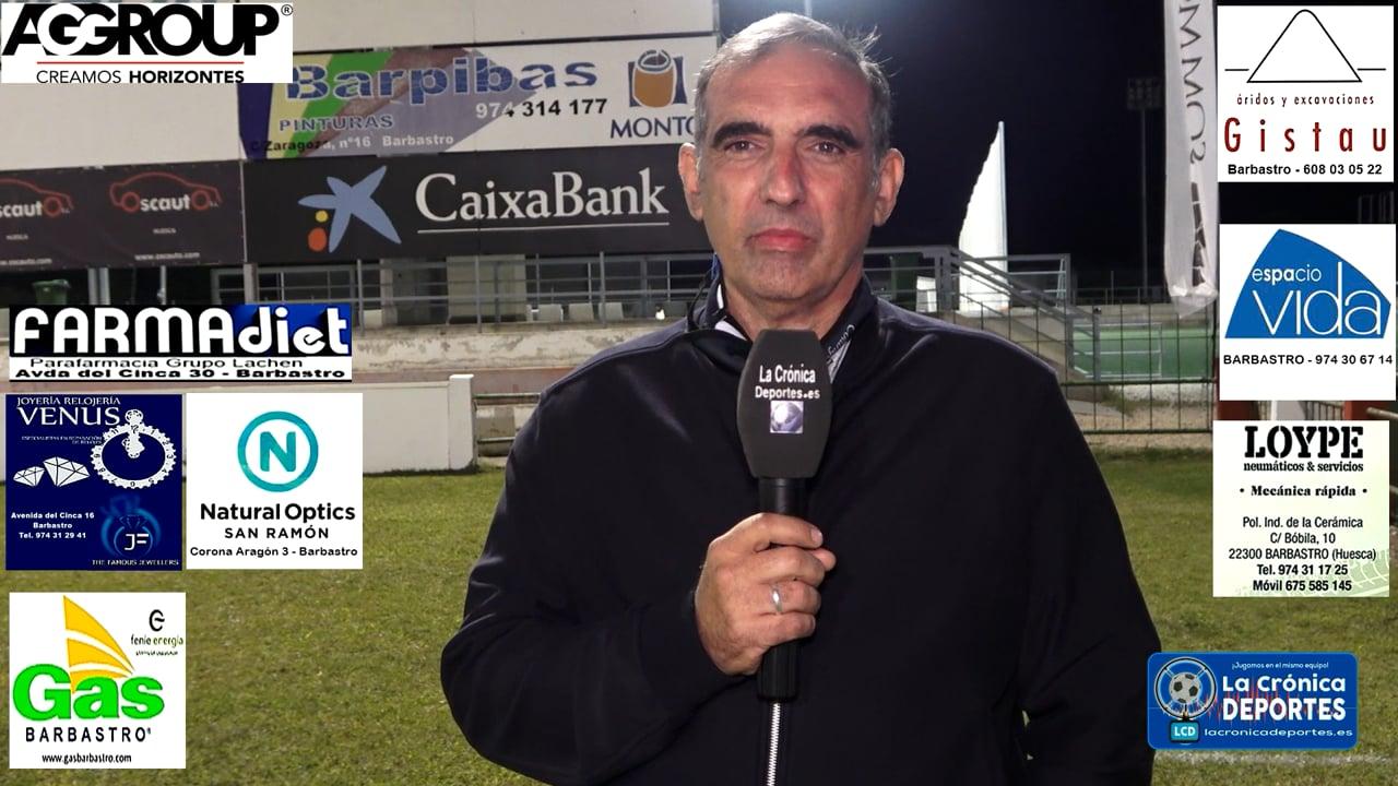La UD Barbastro Somontano, descansa esta Jornada / Analizamos el Inicio de la Temporada con XAVI GÓMEZ (Directivo Responsable del Equipo) 2ª Regional - Gr 2-1