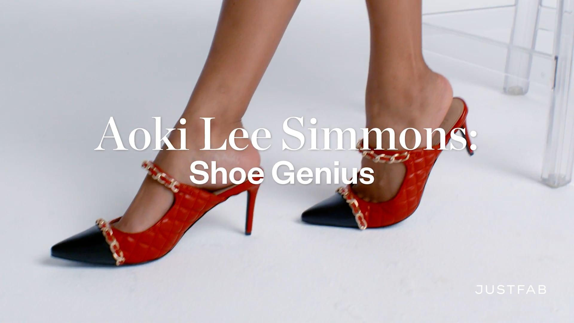 """JustFab x Aoki Lee Simmons """"Shoe Genius"""""""