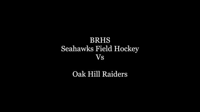 Seahawks Field Hockey Vs Oak Hill Raiders
