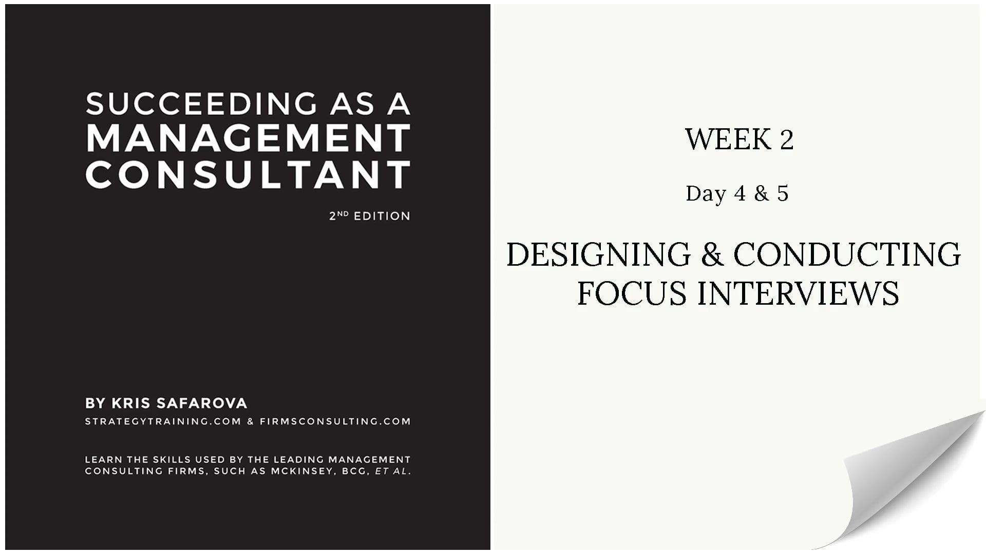 021 SAAMC Week 2 - Day 4 & 5 Designin...