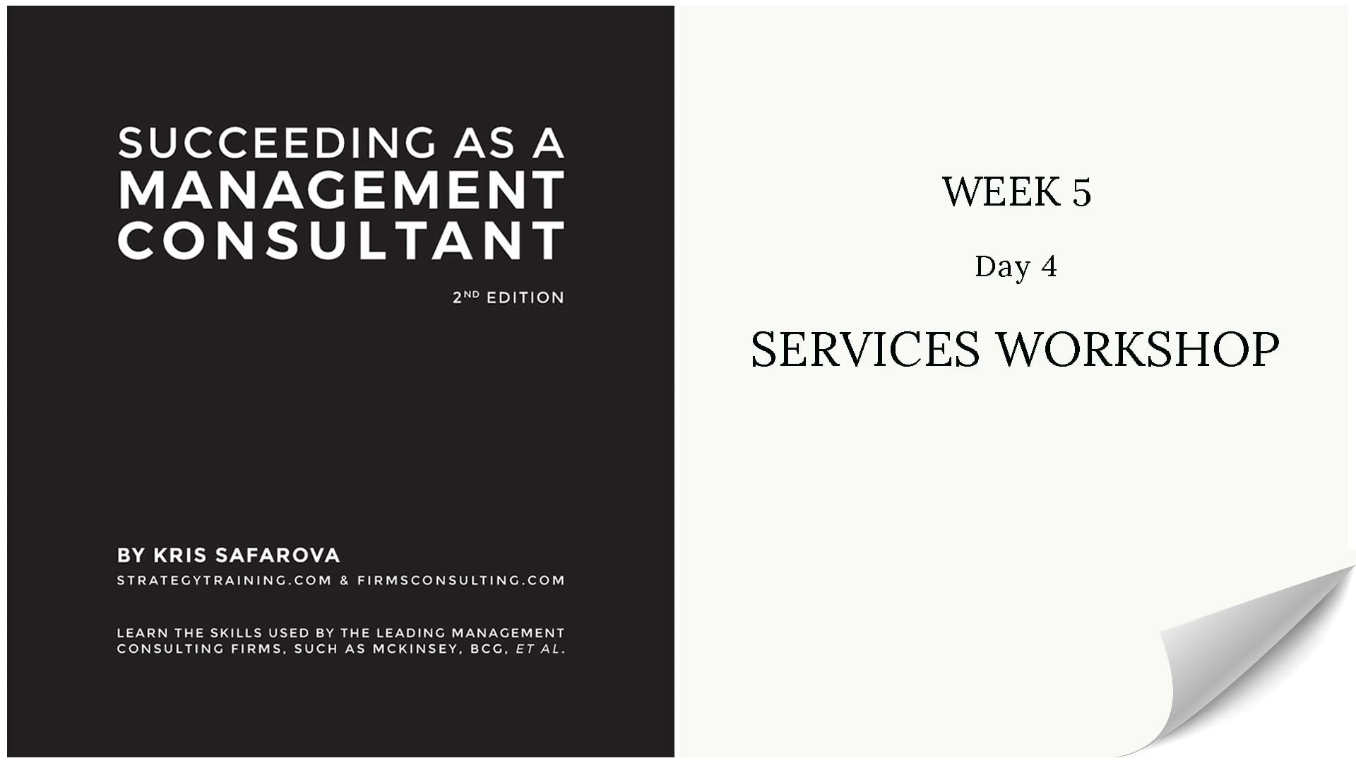 031 SAAMC Week 5 - Day 4 Services Wor...