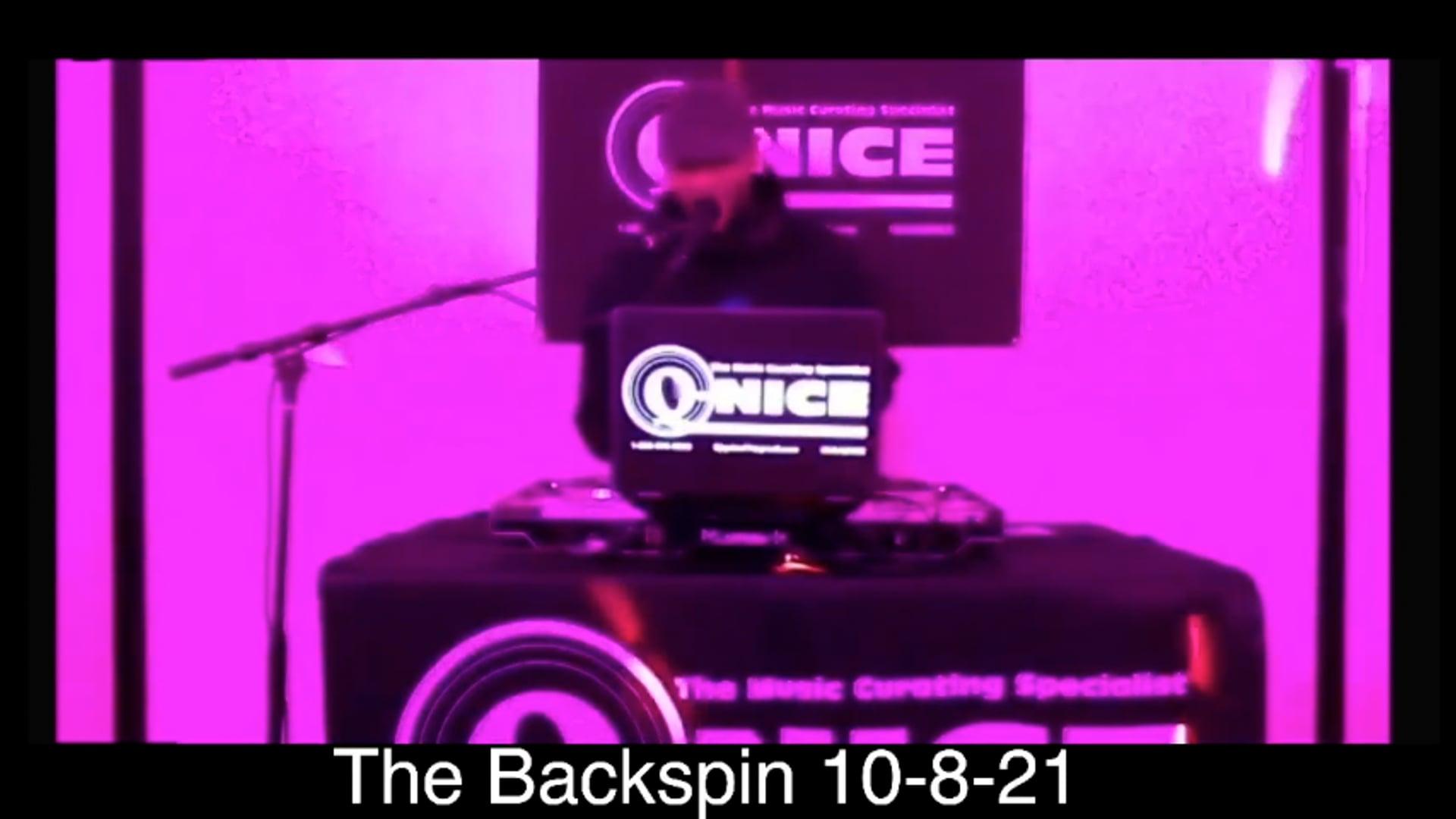 The Backspin 10-8-21