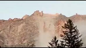 Maxifrana dal monte Sorapis nelle Dolomiti