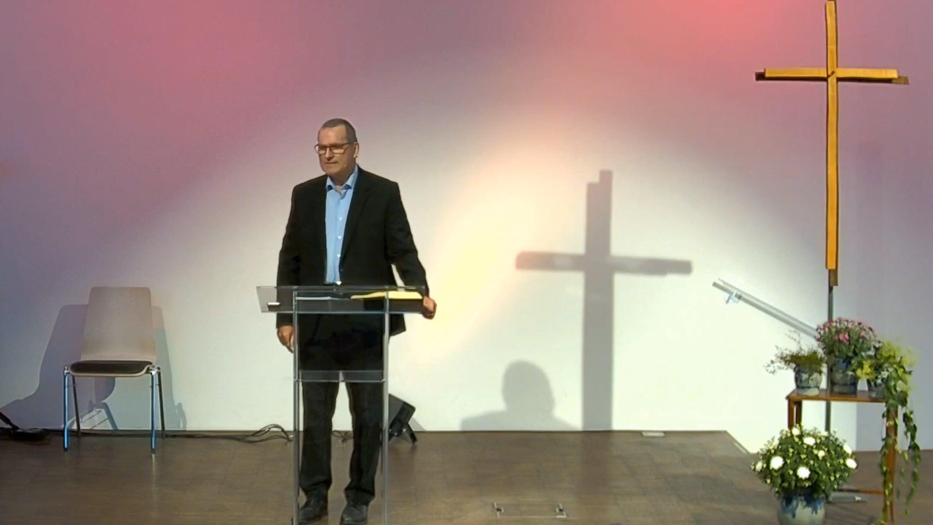 Morgengottesdienst 19.09.2021 / Stefan Schweyer